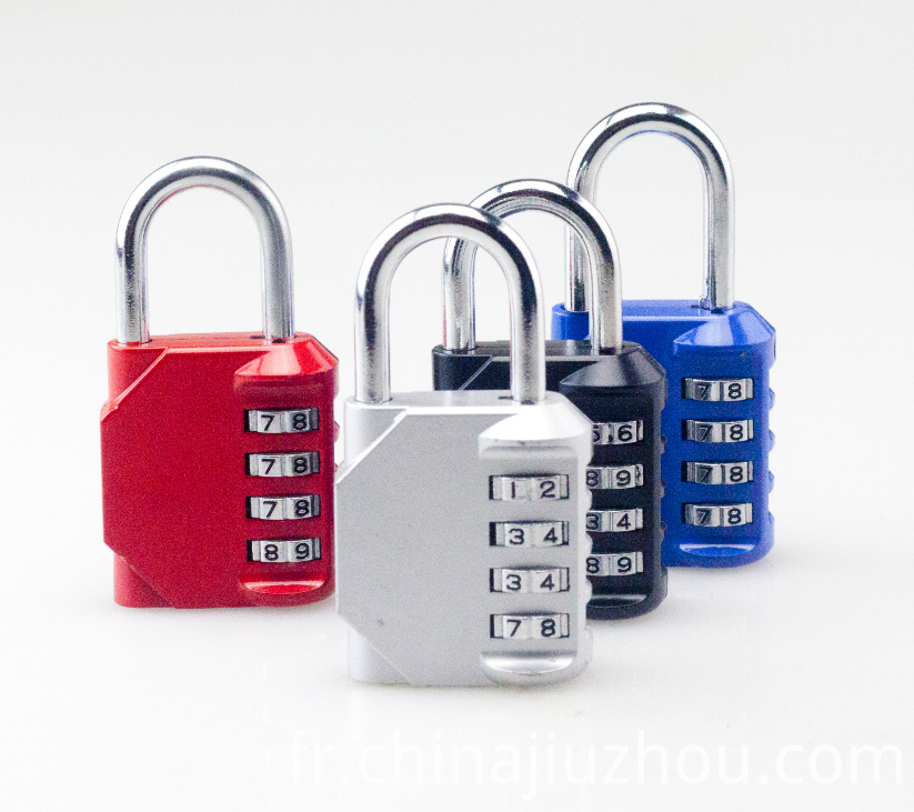 Colorful Metal Combination Padlock