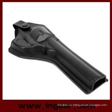 Ejército fuerza cuero revólver pistola funda estilo largo