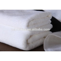 Hot Selling 32s Pure White Custom Embroidery Logo Hotel Cotton Bath Towel