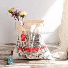 Festival christmas beach canvas packaging bag wholesale