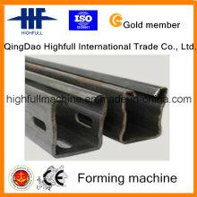 Rolo de suporte solar de alta velocidade que dá forma à máquina