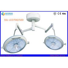 Инструмент больницы безболезненный хирургический LED700 / 500 рабочий Ligt / лампа