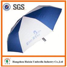 Günstigen Preisen!! Fabrik Supply automatische offen 2 Falte Regenschirm mit krummen behandeln