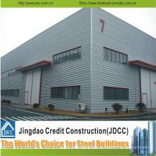 De alta calidad y de gran tamaño moderno de calidad Prefab Steel Workshop