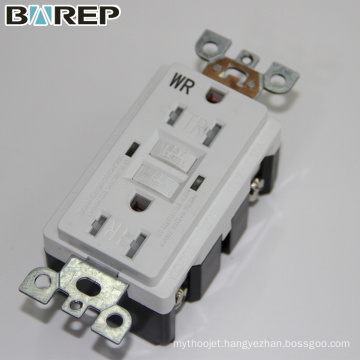 GFCI Safety circuit wall receptacle gfci electric socket