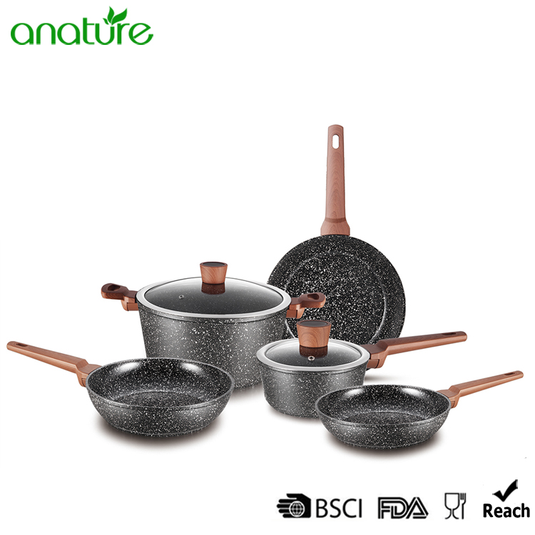 Forged Marble Stone Non Stick Cookware Walmart Review