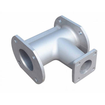 Peças de fundição em areia de alumínio Peças de tubo