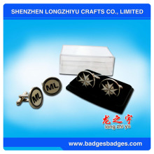 Mens Cufflinks with Plastic Box