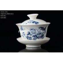 Varios patrón Shape Tea Cup Y Gaiwan