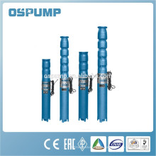 stainless steel impeller submersible pump submersible pump single phase 300QH series stainless steel multistage submersible pump