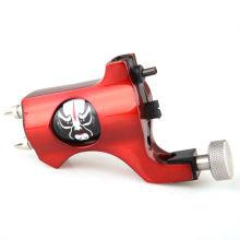2012 el más nuevo de Pekín ópera de diseño de cara de aluminio de tatuaje máquina rotativa rotativa pistola