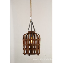 New Design Modern Wood Hemp Pendant Lighting (KW0241P)