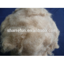Dehaired and Carded Dog Hair Brown Color 20.5mic/26mm