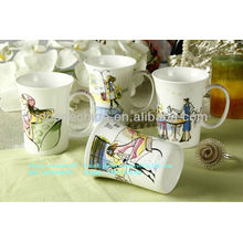 Cerámica fina de porcelana de cerámica de porcelana de cerámica de porcelana