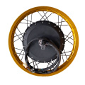 NBpower QS 8000w electric hub motor 8KW conversion kit for motorcycle colorful rim 18'' 19'' 21''