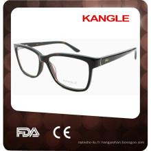 2017 acétate optique fait main cadre de lunettes de concepteur