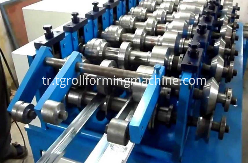 Automatic Steel Purlin Roll Forming Machine