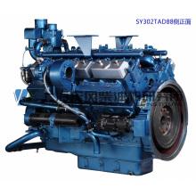 455kw, Shanghai Dongfeng Diesel Engine para Grupo Gerador / Motor de Força