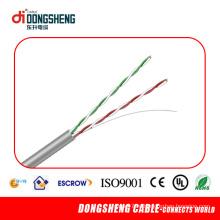 UL, CE, RoHS утвержденный телефонный кабель