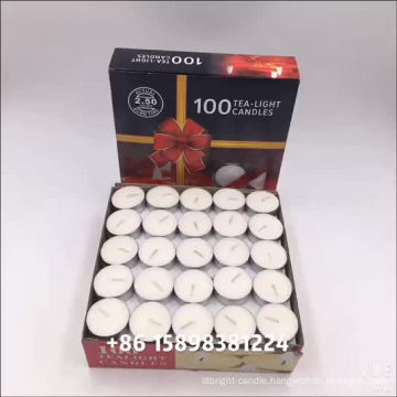 Factory Direct Hot Selling White Paraffin Wax Tealight Candle At A Special Preferential Price And Long Burning Time