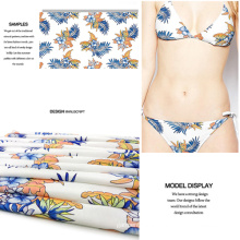 Fashionable Flower Printed Stretch Jersey Fabric