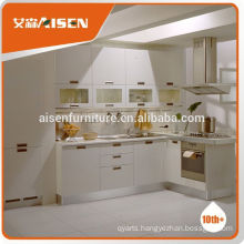 Reasonable & acceptable price factory directly prefab kitchen cupboard factory