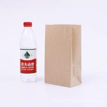 saco de papel a favor do meio ambiente biodegradável do pla