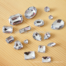 Piedra de cristal al por mayor, cristal de la suposición de la piedra