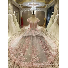 New Arrival 2017 Multi-Color Marriage Pink Grey Wedding Dresses