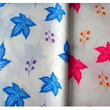 Tela de /Flower camas/pongis/impresa