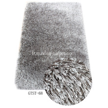 Soft & Silk Blend Yarn Tapis Shaggy
