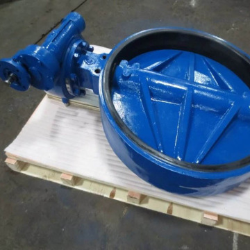 Silicone rubber soft seal butterfly valve