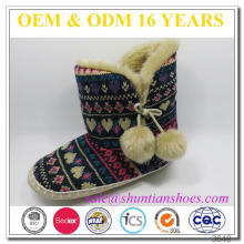 2016 Lovely Cheap Winter Cashmere Snow Boot For Girls