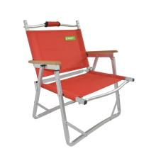 Calidad peso ligero pesca acero Camping al aire libre plegable silla plegable