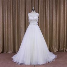 Chapel Train A-Line Bridal Gown Bridal Sash