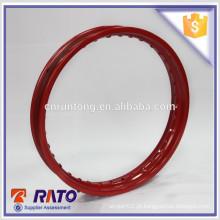 Roda de roda de rolo de rolo de 1.6 * 18 vermelho universal de 36 raios fabricada na China