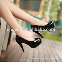 OL Office Fashion Ladies Platform High Heels, 2016 New Arrival Round Toe Leather High Heels Shoes, Women Spring Pumps OL Office Fashion Ladies Platform High Heels, 2016 New Arrival Round Toe Leather High Heels Shoes, Women Spring Pumps