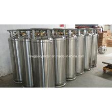 Argon- Nitrogen Dewar of Liquid Oxygen Tank Pressure Vessel 195L Stainless Steel Vacuum Insulated Cryogenic Pressure Bottle 2.01