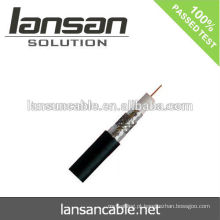 75 ohm rg6 cabo coaxial