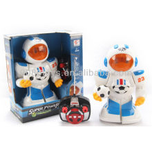 New product RC robot 4 Channel Football Robot w/light&music