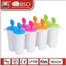 Ice-Lolly en plastique Maker(8 PCS)