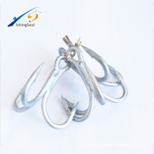 FSH001 ST66 High Quality High Carbon Steel Fishing Hooks