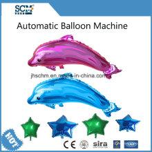Máquina automática com balão de hélio