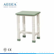 AG-NS004 steel frame hospital chairs for patients with anti-skidding foot cap