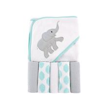 jogo de toalha encapuçado bebê popular com capuz
