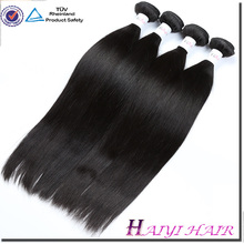 Unprocessed Factory Price Cheap Virgin Hair Straight Natural color Double Sewn Weft Hair Bundle