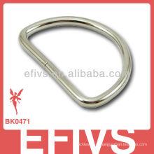 Aço inoxidável paracord fivela anel D