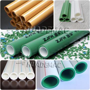 HDPE Kunststoff Rohrhersteller Maschine / Herstellungsmaschine Preis