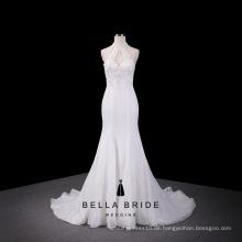 Elegant Elfenbein Meerjungfrau Brautkleid abnehmbaren Panel-Zug am besten verkaufen 2016