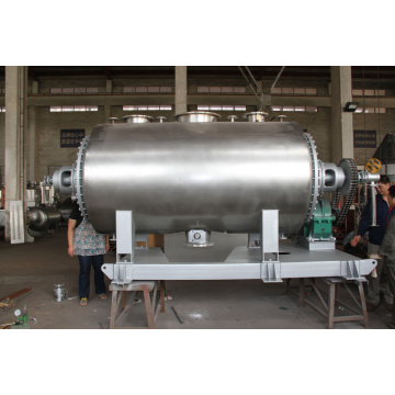 High Frequency vacuum mechanical rake dryer